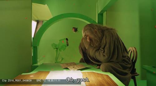 ガンダルフ役のイアン・マッケランの嘆き01