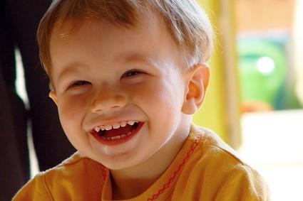子供の笑い顔
