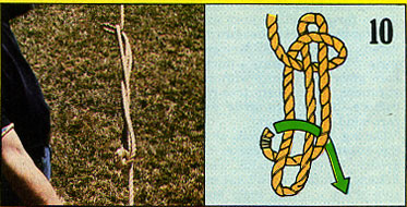 ロープの結び方10