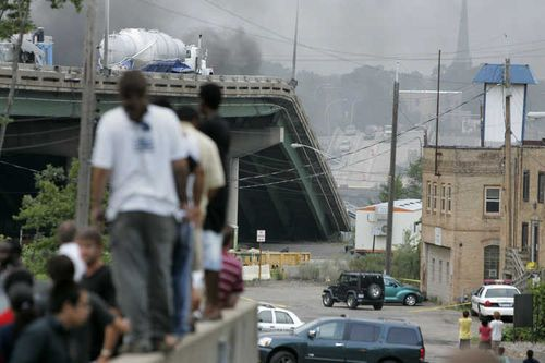ミネソタの橋の事故06