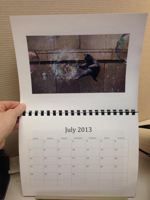 猫のカレンダー07