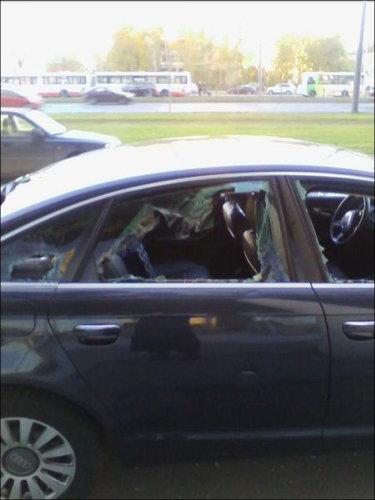 ロシアで車の警報機が一晩中鳴った結果05