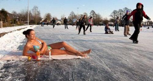 ロシア人と冬06