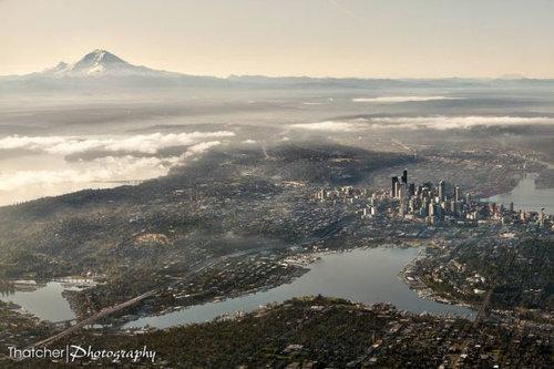 上空から見た都市08