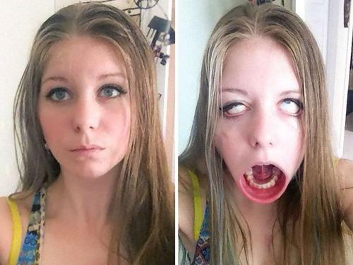 海外の女の子の変顔ランキング03