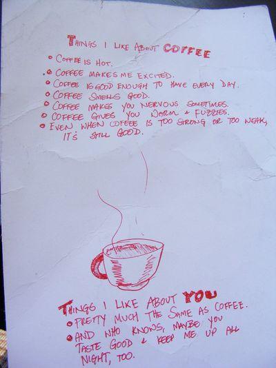 コーヒーと同じくらい君が好き01