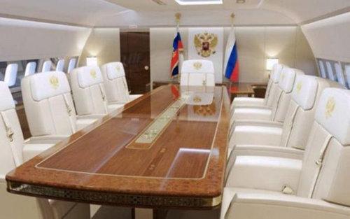 プーチン大統領のプライベートジェット07