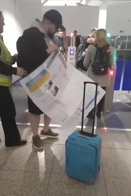友人が搭乗券を印刷してくれた02