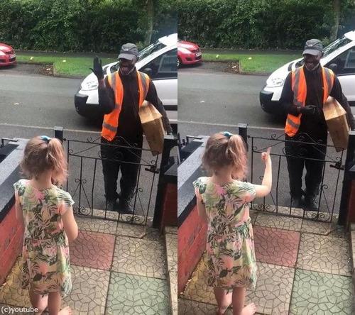 耳の聞こえない郵便配達員と8歳の女の子01