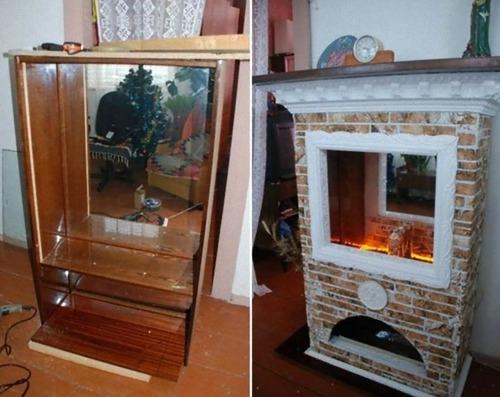 旧ソ連の家具をリメイク13