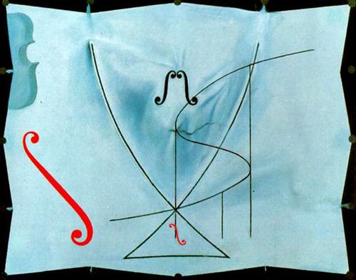 サルバドール・ダリ「ツバメの尾」(1983)