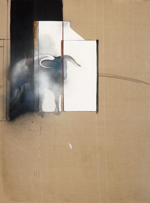 フランシス・ベーコン「雄牛の研究」(1991)