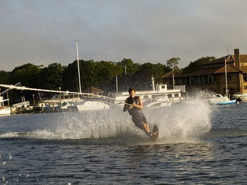 水上スキー00