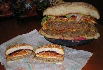 巨大ハンバーガー14
