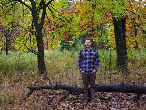 森の中で自動撮影にしてプロポーズ01