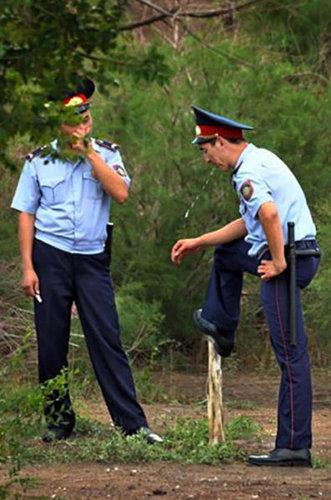 ロシアの警官07