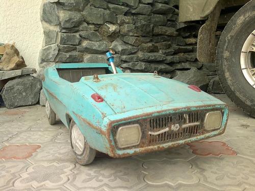 ソ連時代の子ども用のペダル車をレストア15