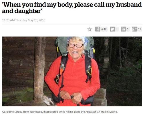遭難した66歳女性の手紙01
