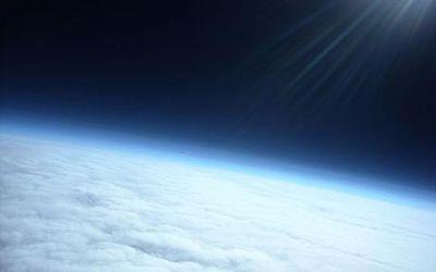 風船から撮った写真