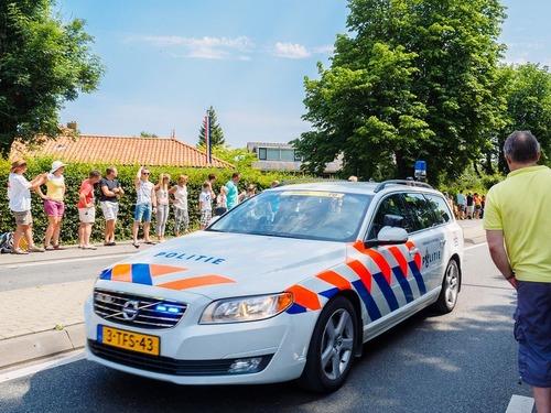 オランダのパトカー