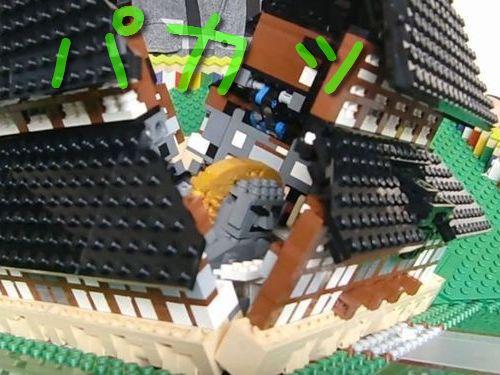 レゴで飛び出る東大寺