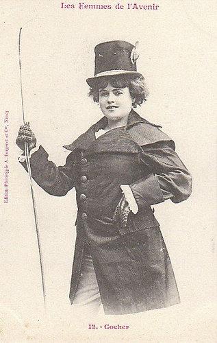 100年前に想像した未来の女性像12