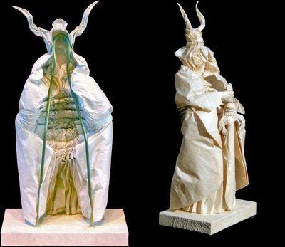神レベルの素敵な折り紙-アラルゴン製作