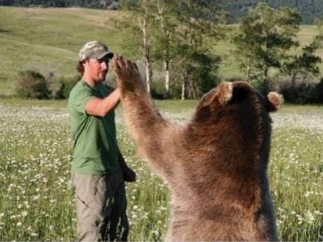 クマを育てた男11