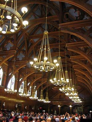 ハーバード大学の食堂11