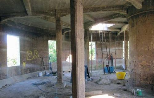 給水塔を自宅にリフォーム04