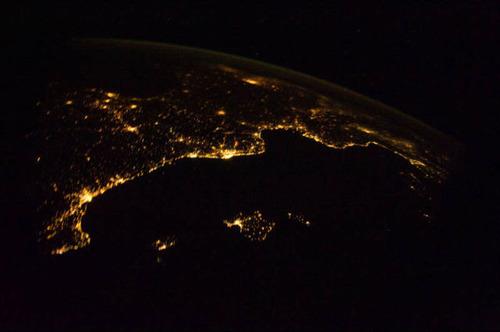 ISSから見た夜景23
