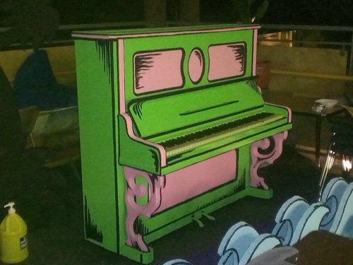 カートゥーン風ピアノ04