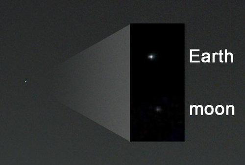 火星から地球を見上げると、こう見える05