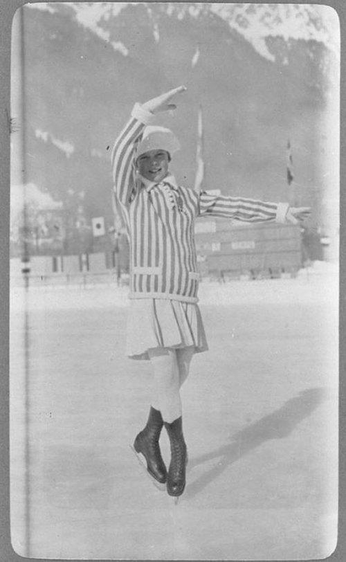 第1回1924年の冬季五輪08