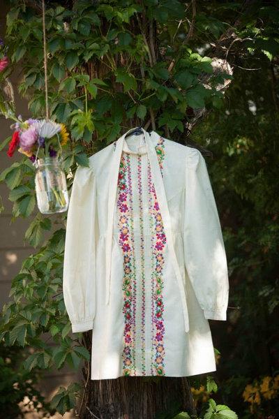 1960年の母親のウェディングドレスを借りた02
