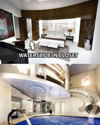 贅沢な家10