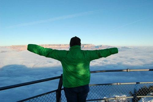 グランドキャニオンの雲海09