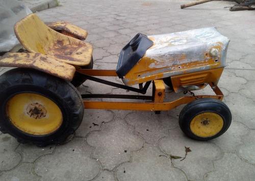ソ連時代の子ども用のペダル車をレストア11