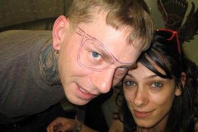 メガネのタトゥー05