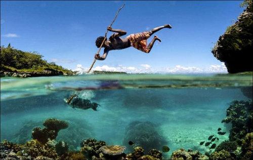 ニューカレドニアのモリ漁03