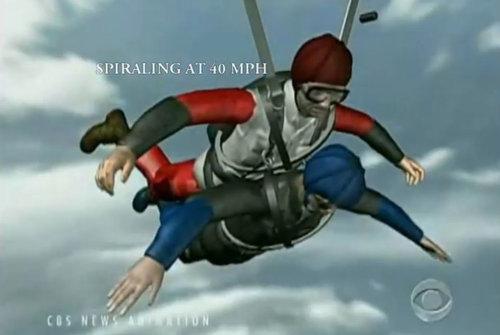 スカイダイビングのヒーロー07