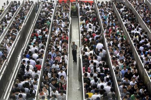 世界の通勤ラッシュ02