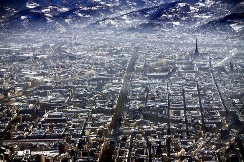 上空から見た都市21