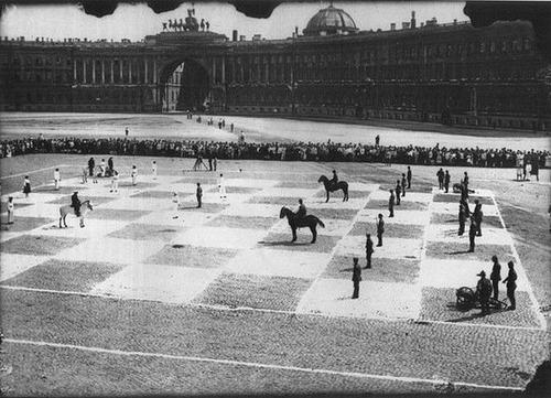 かつて人間でチェスを行った01