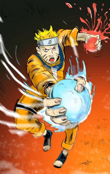 アメコミ作者が日本の漫画キャラクターを描いたら02