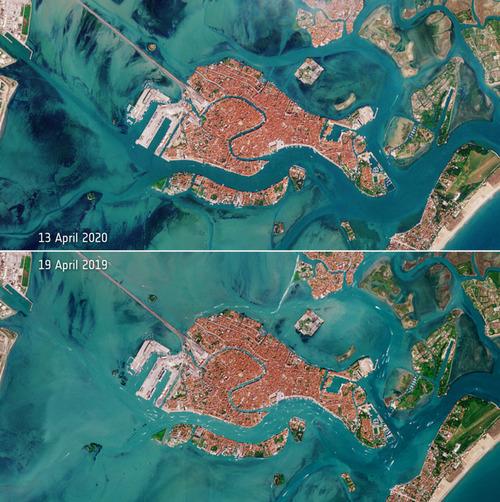 宇宙から見たベネチア運河01