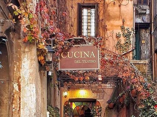 ローマのレストラン02