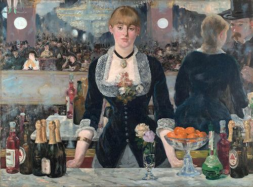 エドゥアール・マネ「フォリー・ベルジェールのバー」(1882)