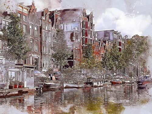 オランダの醜いデザインの家