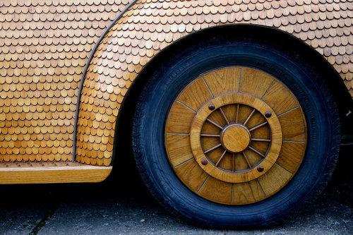 木製のフォルクスワーゲン03